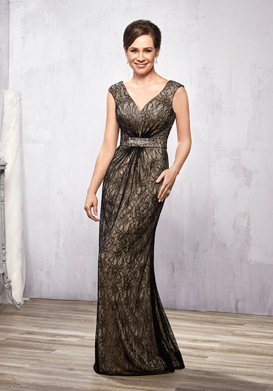Beautiful Mothers by Mary's M2780 Black Mother Of The Bride Dress