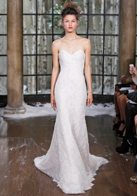 Ines Di Santo Berlin Sheath Wedding Dress