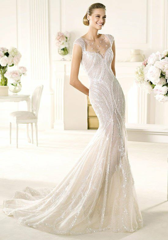 Manuel Mota For Ovias Ventura Mermaid Wedding Dress