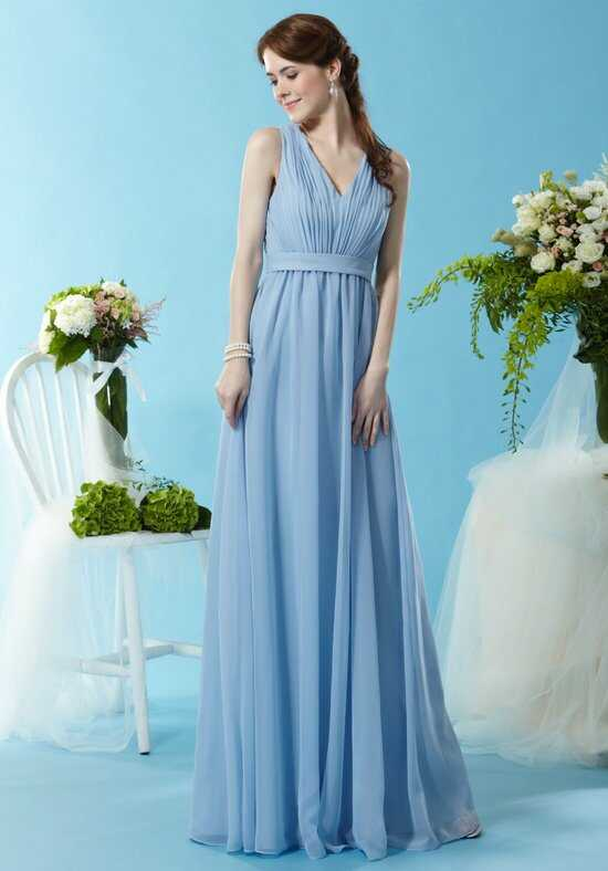 Eden Bridesmaids 7452 V-Neck Bridesmaid Dress