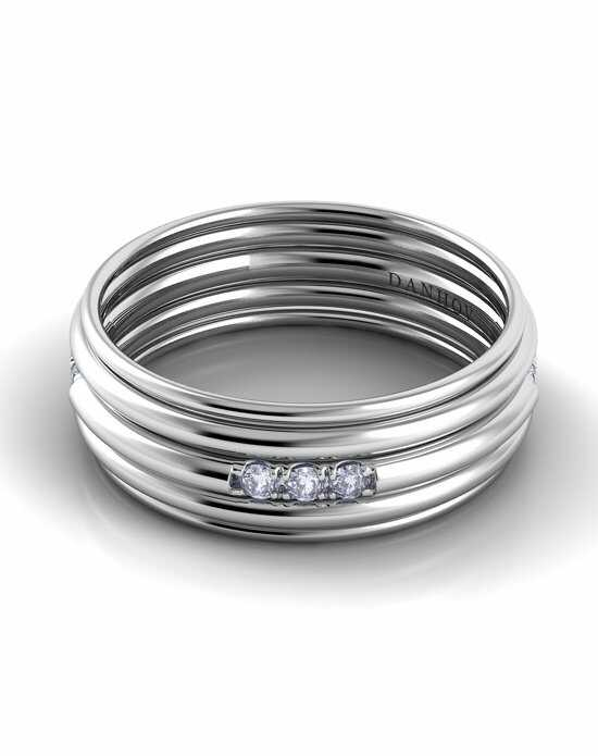 Danhov Classico Round Band White Gold White Gold Wedding Ring