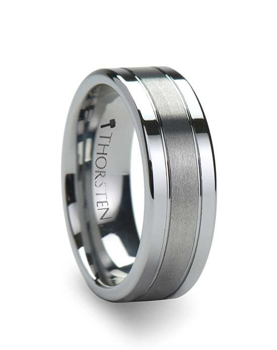 Mens Tungsten Wedding Bands W343-FGBC Tungsten Wedding Ring
