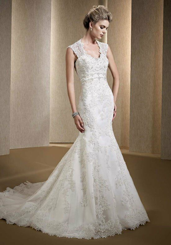 Kenneth Winston: Premiere LV83 Mermaid Wedding Dress