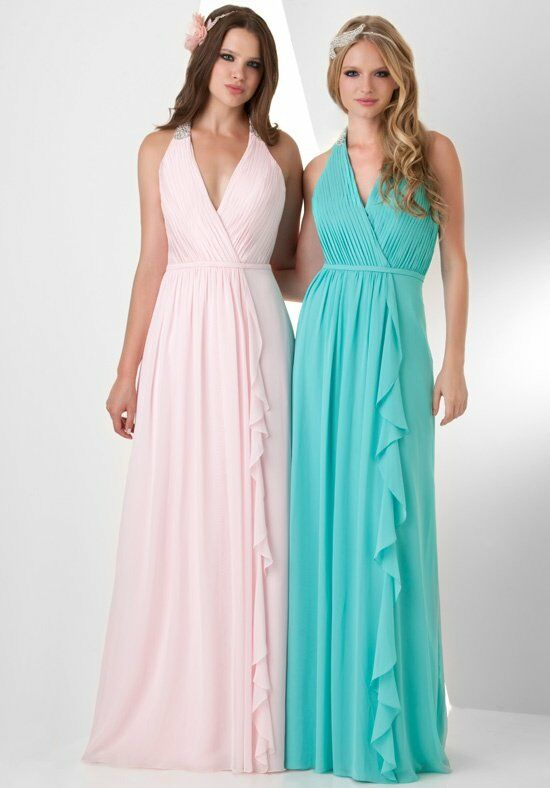 Bari Jay Bridesmaids 859 Halter Bridesmaid Dress