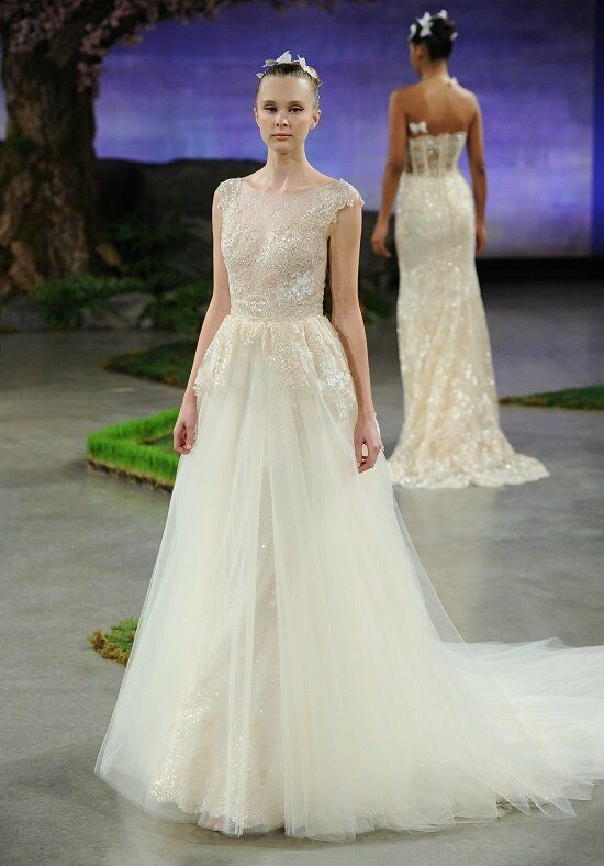 Ines Di Santo Alonda Mermaid Wedding Dress