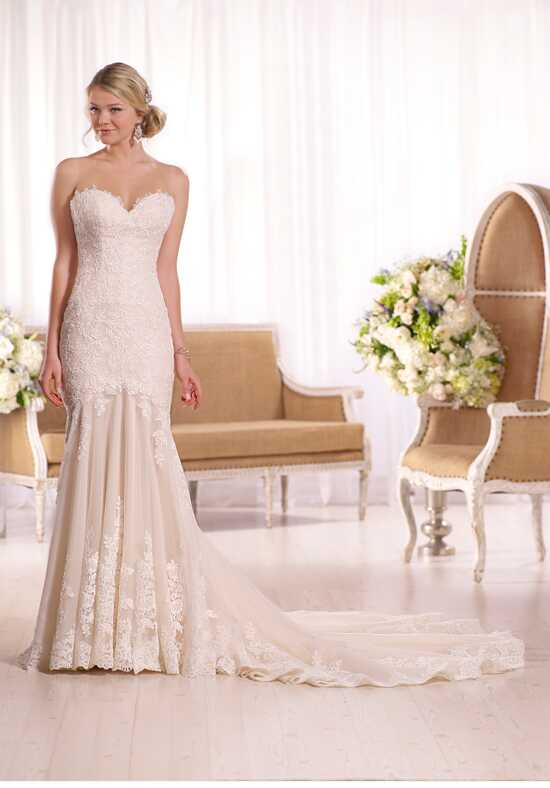 Essense of Australia D2036 Sheath Wedding Dress