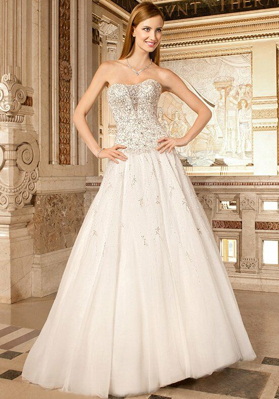 Demetrios 564 A-Line Wedding Dress