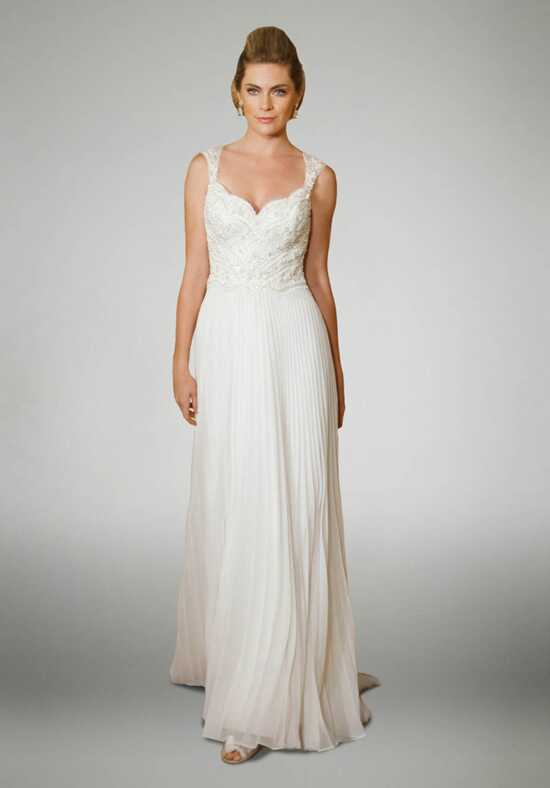 Matthew Christopher Katherine Sheath Wedding Dress