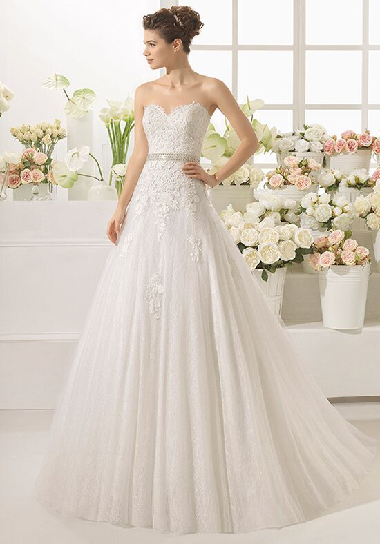 Aire Barcelona Canoa A-Line Wedding Dress
