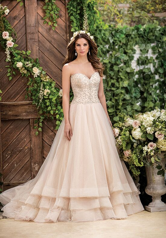 Sweetheart Neckline Lace Wedding Dresses