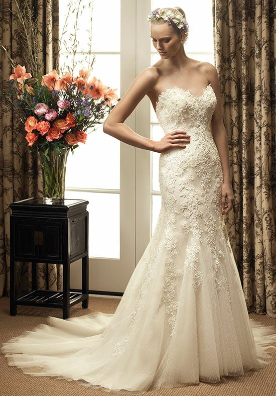 Casablanca Bridal 2214 Mermaid Wedding Dress