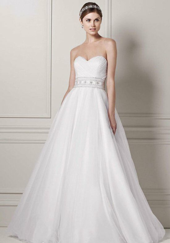 David\'s Bridal Oleg Cassini Style CPK440 Wedding Dress - The Knot