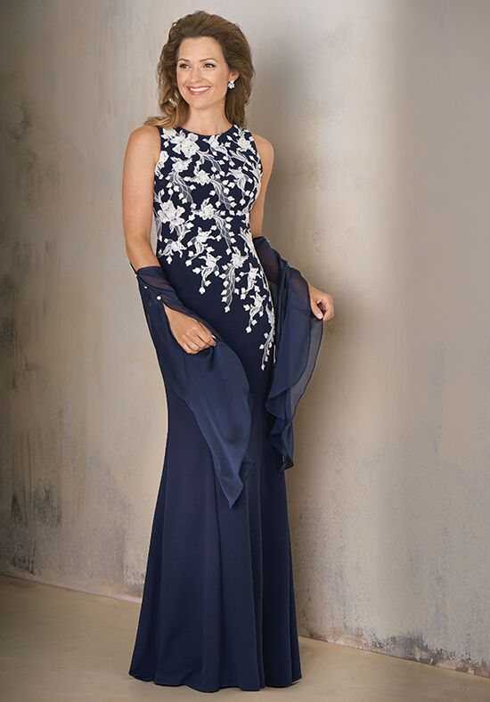 Jade Couture K208002 Blue Mother Of The Bride Dress