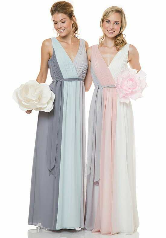 Bari Jay Bridesmaids 1501 V-Neck Bridesmaid Dress