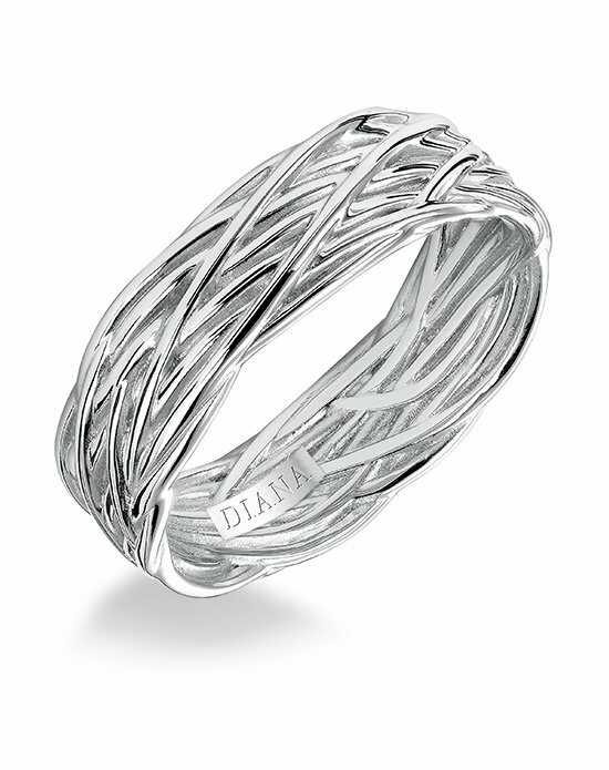 Diana 11-N89W7-G Platinum, White Gold Wedding Ring
