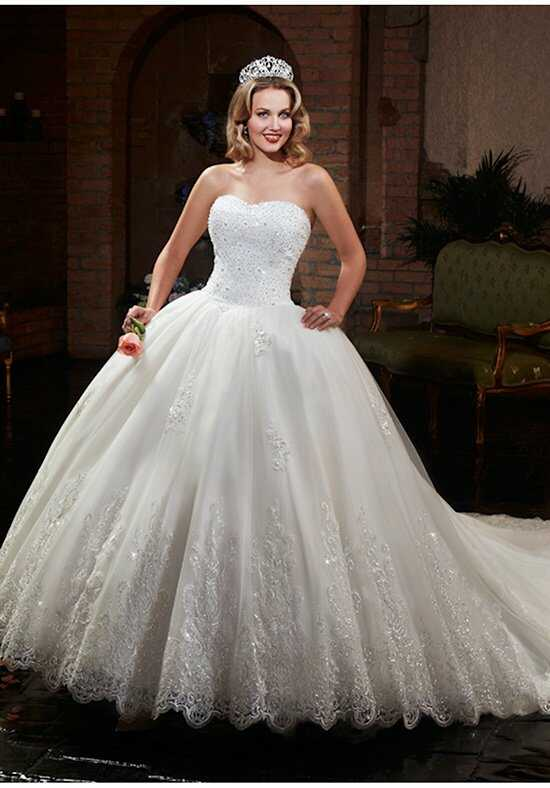 1 Wedding by Mary's Bridal 6374 Ball Gown Wedding Dress