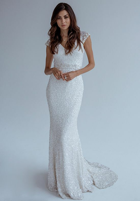 KAREN WILLIS HOLMES Caitlyn Mermaid Wedding Dress