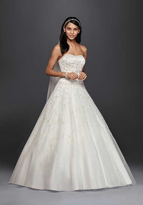 Oleg cassini at david 39 s bridal oleg cassini style ct258 for Wedding dress designer oleg cassini