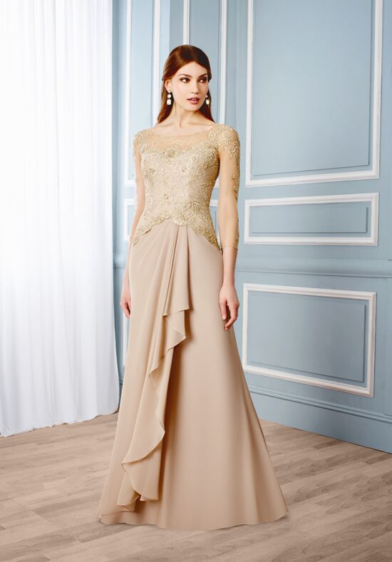 Val Stefani Celebrations MB7547 Champagne Mother Of The Bride Dress