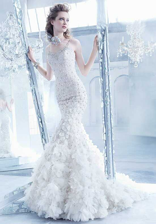 Lazaro 3451 Mermaid Wedding Dress