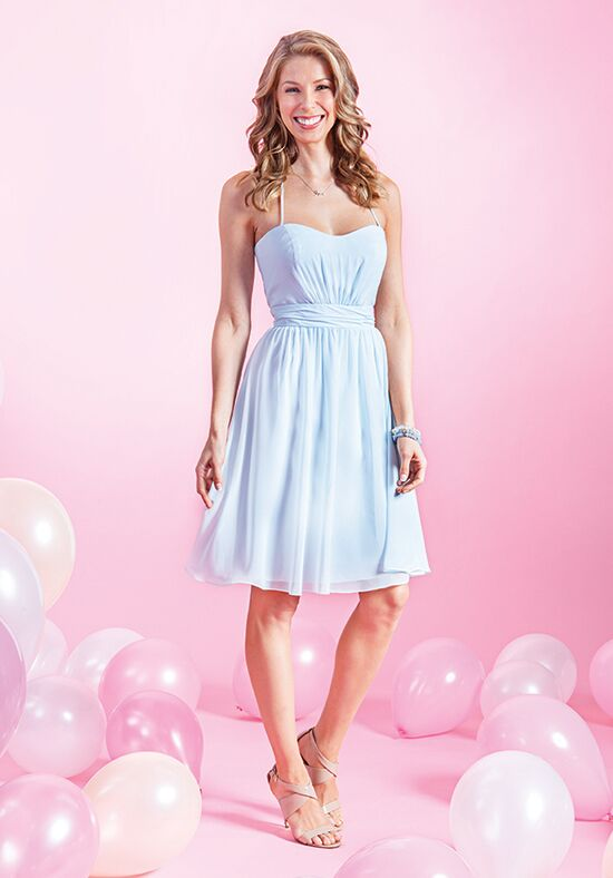Alfred Angelo Signature Bridesmaids Collection 7383S Halter Bridesmaid Dress
