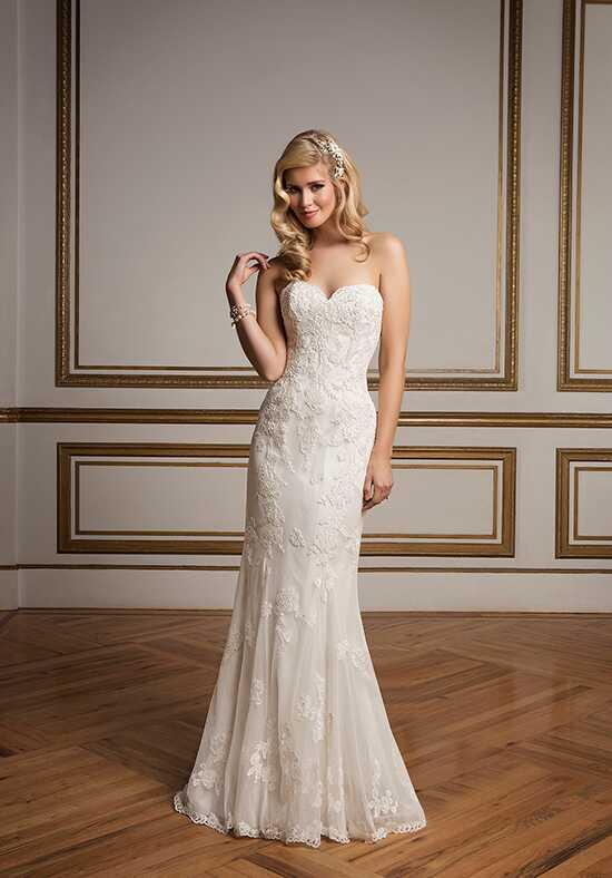 Justin Alexander 8830 Sheath Wedding Dress