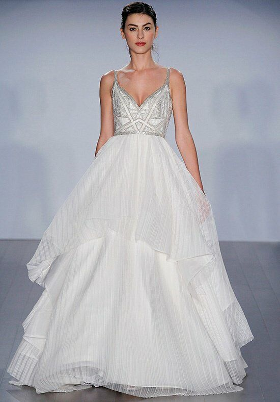 Hayley Paige 6512/Lennon Ball Gown Wedding Dress