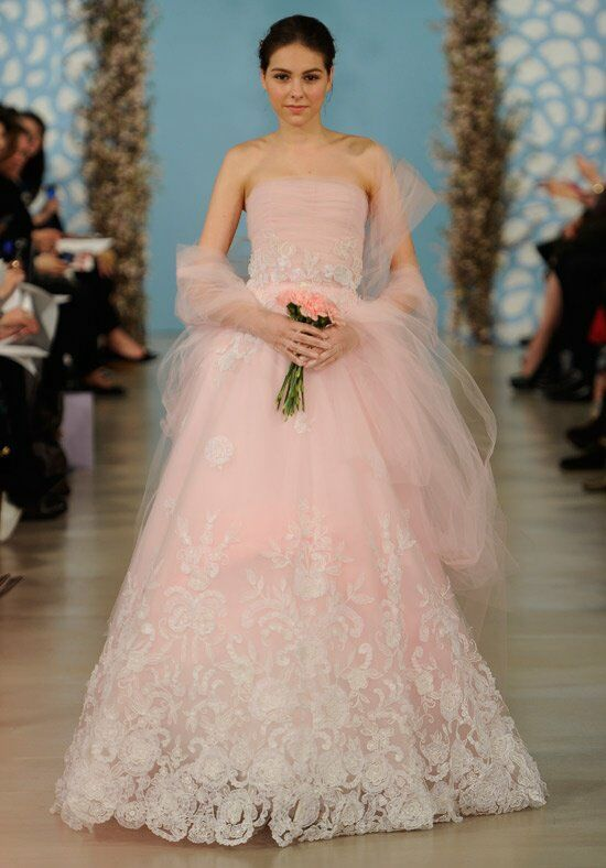 Oscar de la Renta Bridal 2014 Look 28 A-Line Wedding Dress