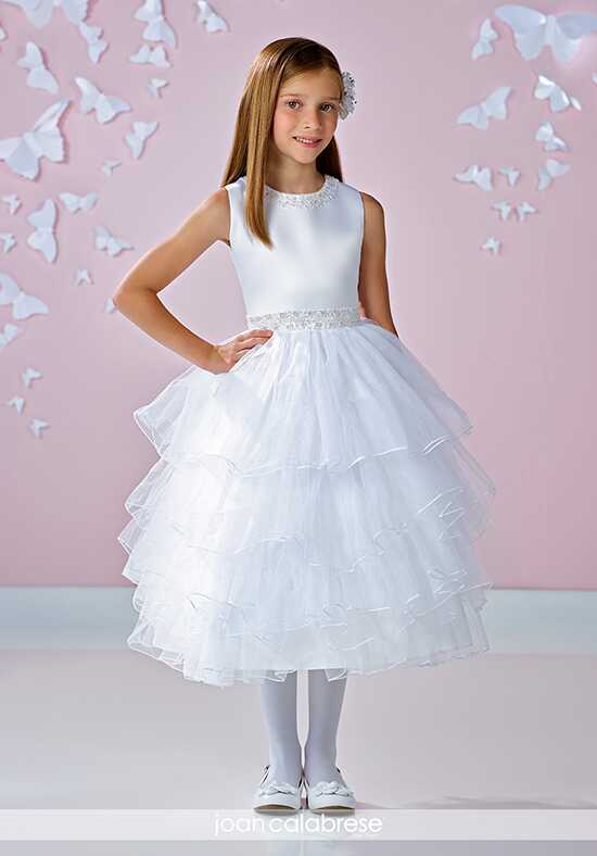 Joan Calabrese by Mon Cheri 117331 Ivory Flower Girl Dress