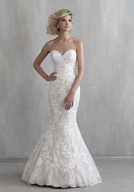 Madison james mj221 wedding dress the knot for Madison james wedding dresses