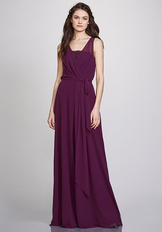 THEIA Bridesmaids Linda Scoop Bridesmaid Dress