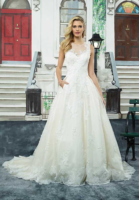 Justin Alexander 8965 Ball Gown Wedding Dress