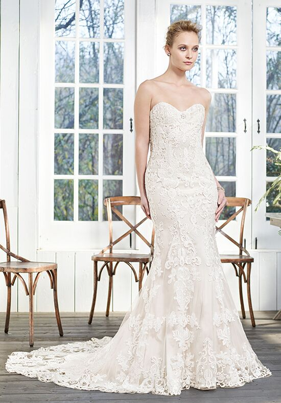 Casablanca Bridal 2255 Laurel Sheath Wedding Dress
