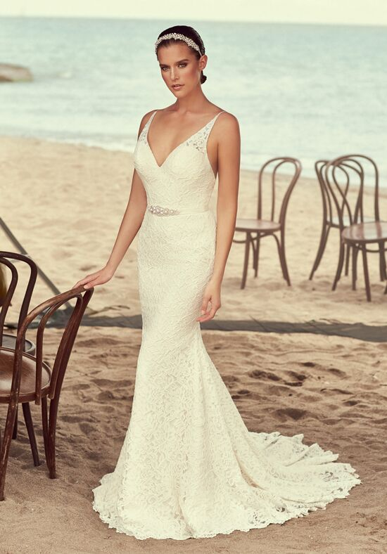 Mikaella 2194 Sheath Wedding Dress
