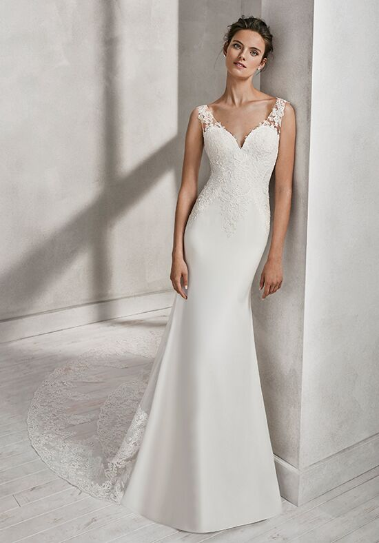 Luna Novias HADA Mermaid Wedding Dress