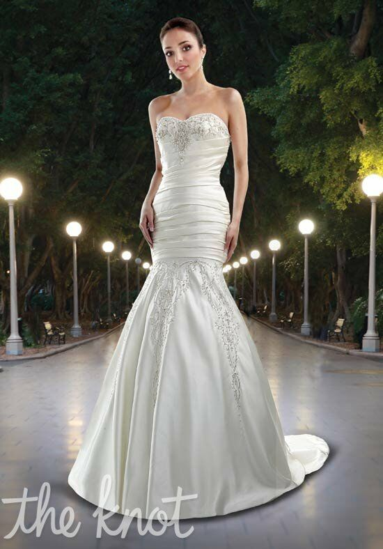 DaVinci Bridal 8401 Mermaid Wedding Dress