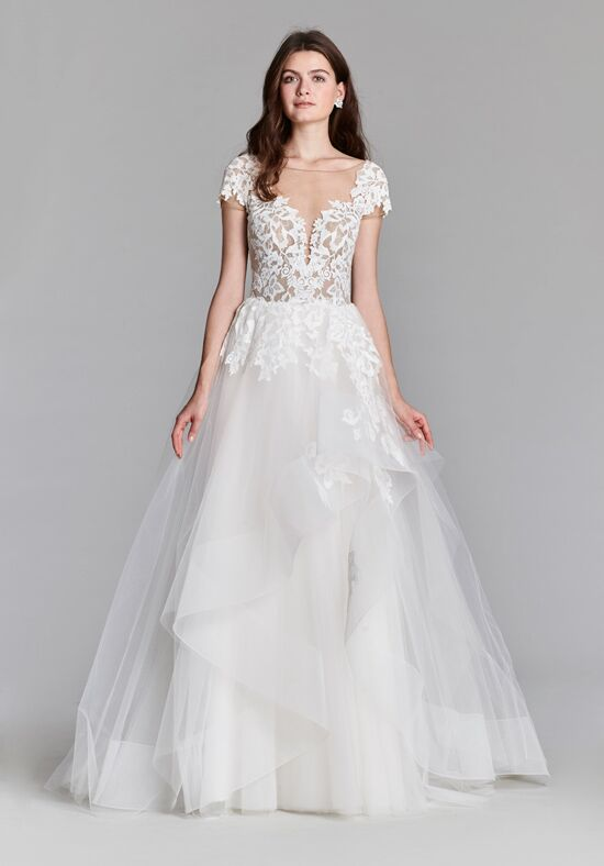 Jim Hjelm 8710 Ball Gown Wedding Dress