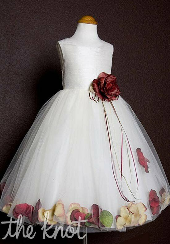 Kids Formal 160 Red Flower Girl Dress