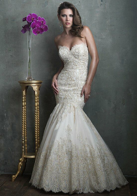 Allure Couture C306 Mermaid Wedding Dress