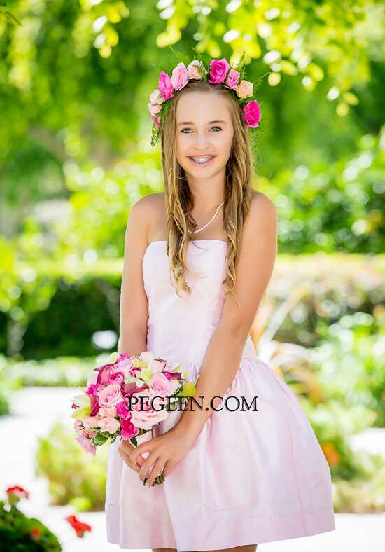 Pegeen.com 306 Black Flower Girl Dress