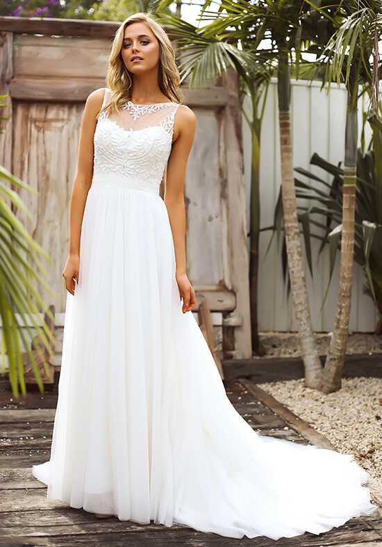 Mia Solano ML6517 A-Line Wedding Dress