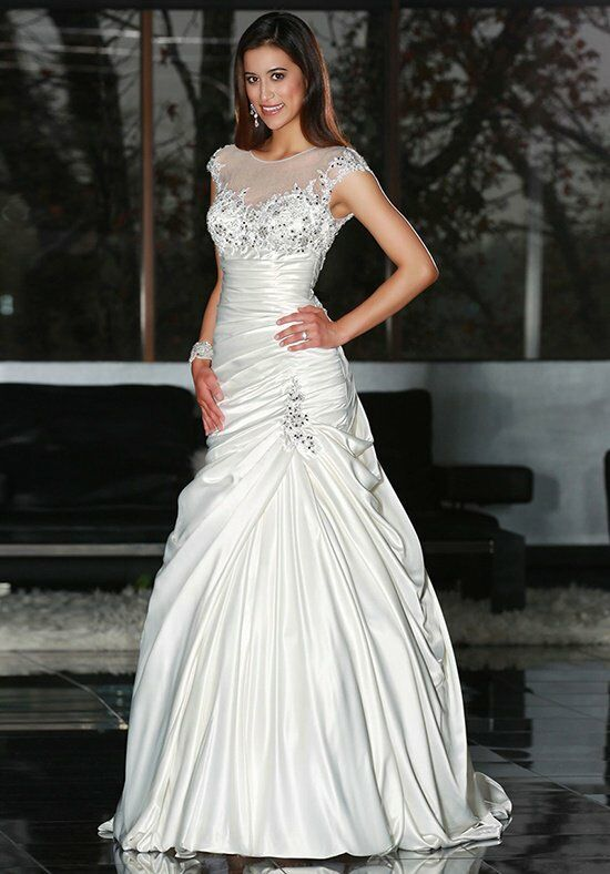 DaVinci Bridal 50216 Mermaid Wedding Dress