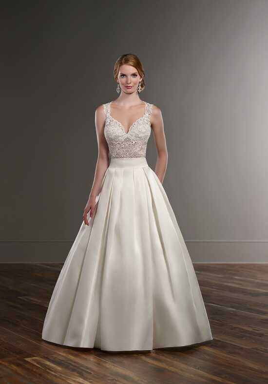 Martina Liana Blair+Sachi Ball Gown Wedding Dress