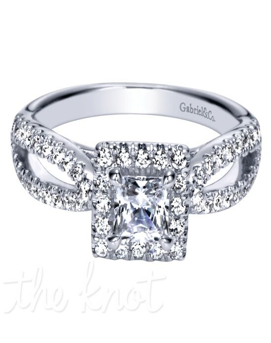 Adore by Gabriel & Co. W-ER8743D4 White Gold Wedding Ring