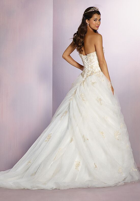 Alfred Angelo Disney Fairy Tale Weddings Bridal Collection 254 Belle Wedding Dress - The Knot