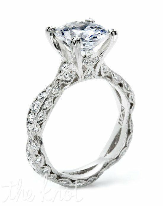 tacori 2578 rd 9 platinum wedding ring - Tacori Wedding Ring