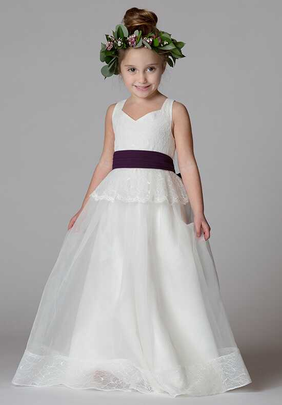 Bari Jay Flower Girls F7217 Ivory Flower Girl Dress