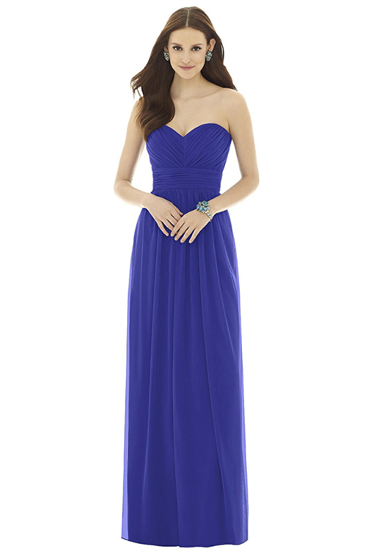 Alfred Sung D725 Sweetheart Bridesmaid Dress