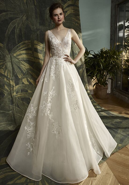 Blue by Enzoani Keagan A-Line Wedding Dress