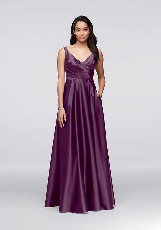 David's Bridal Collection David's Bridal Style F15741 V-Neck Bridesmaid Dress